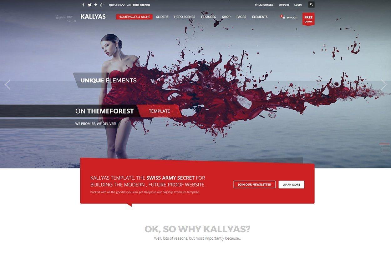 Kallyas HTML5 Template