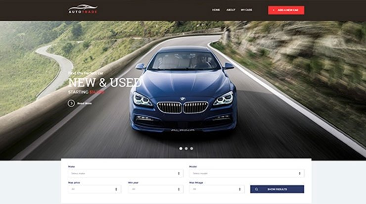 Kallyas AutoTrader – Auto Car Dealership WordPress Theme