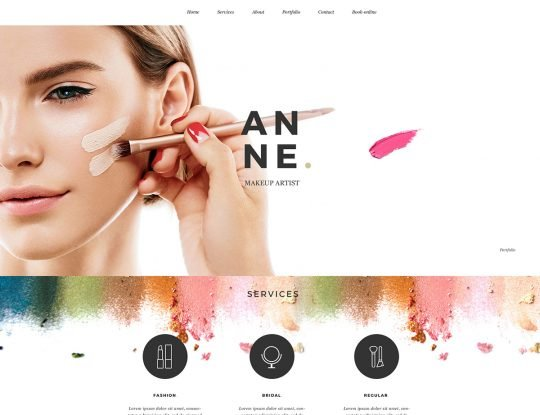 Makeup WordPress Theme - Kallyas