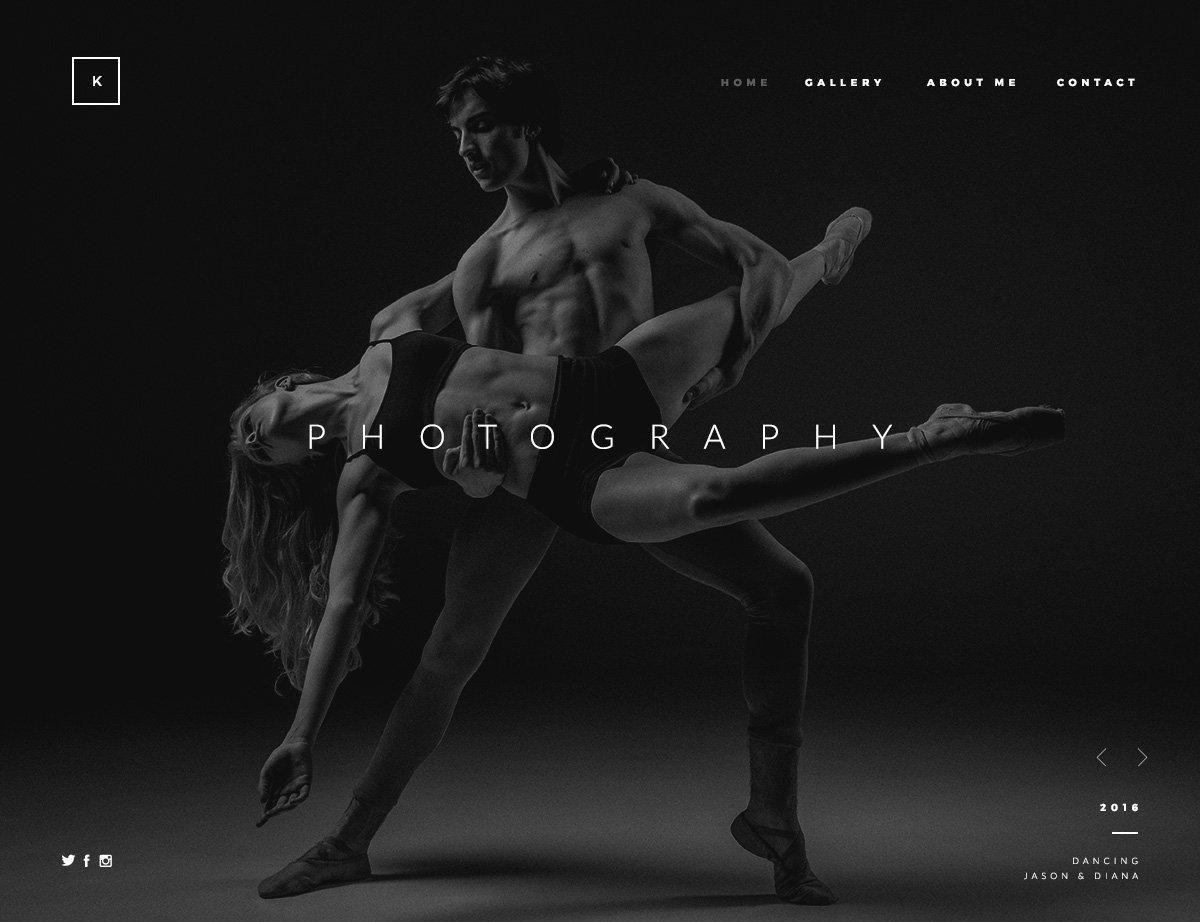 Photography Portfolio WordPress Theme - Kallyas
