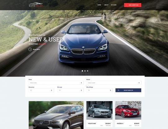 Car Dealer WordPress Theme - Kallyas