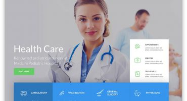 Health Medical WordPress Theme