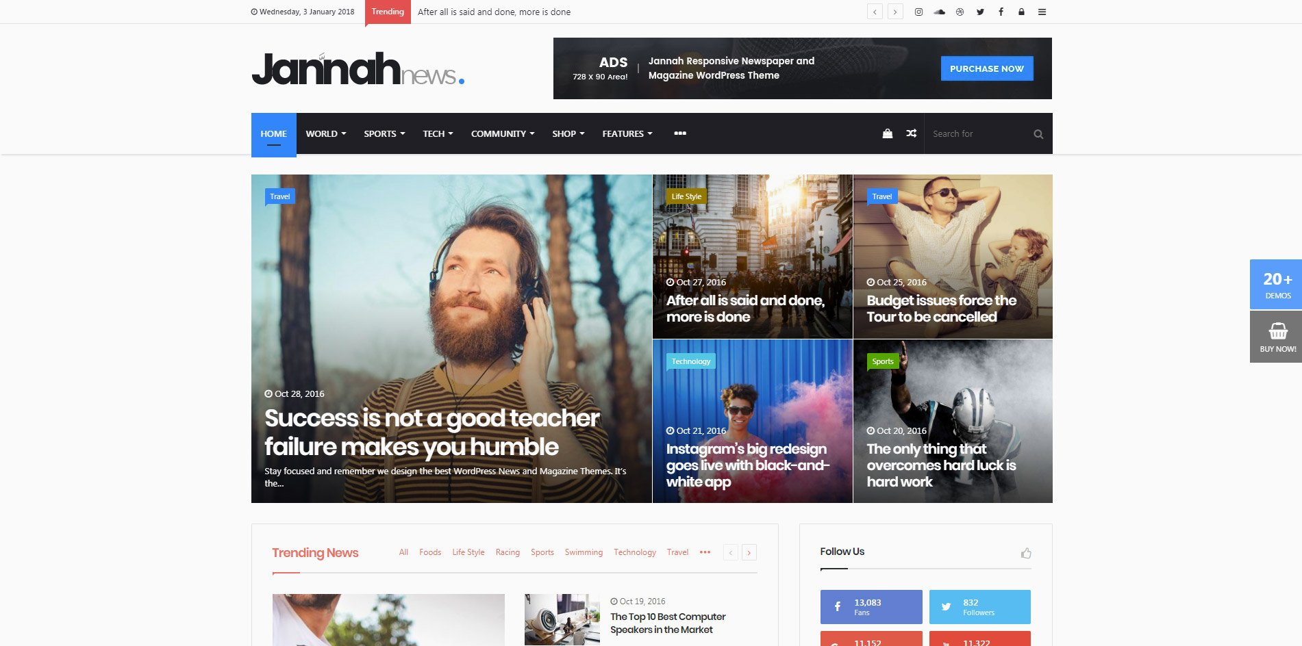 Best WordPress Themes of 2018 for your website - Hogash