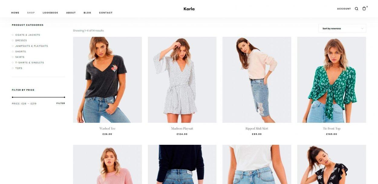 Karla - WordPress eCommerce Theme screenshot