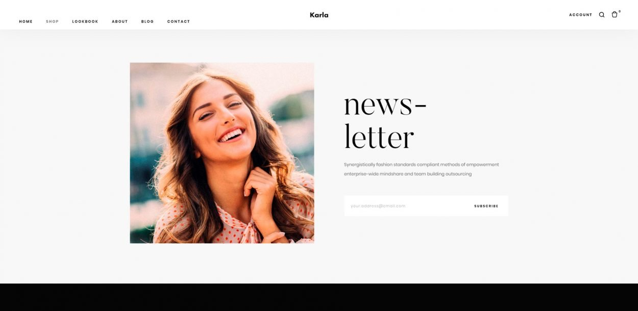 Karla - WordPress eCommerce Theme screenshot