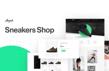 Sneakers Store WordPress Themes