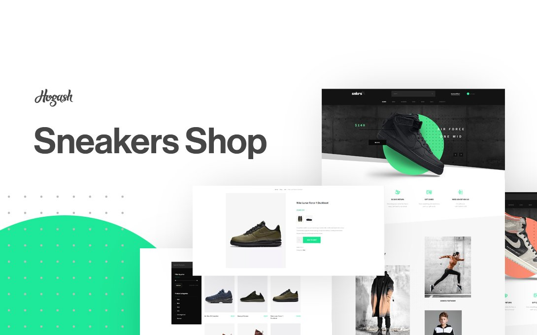 Sneakers Store WordPress Themes