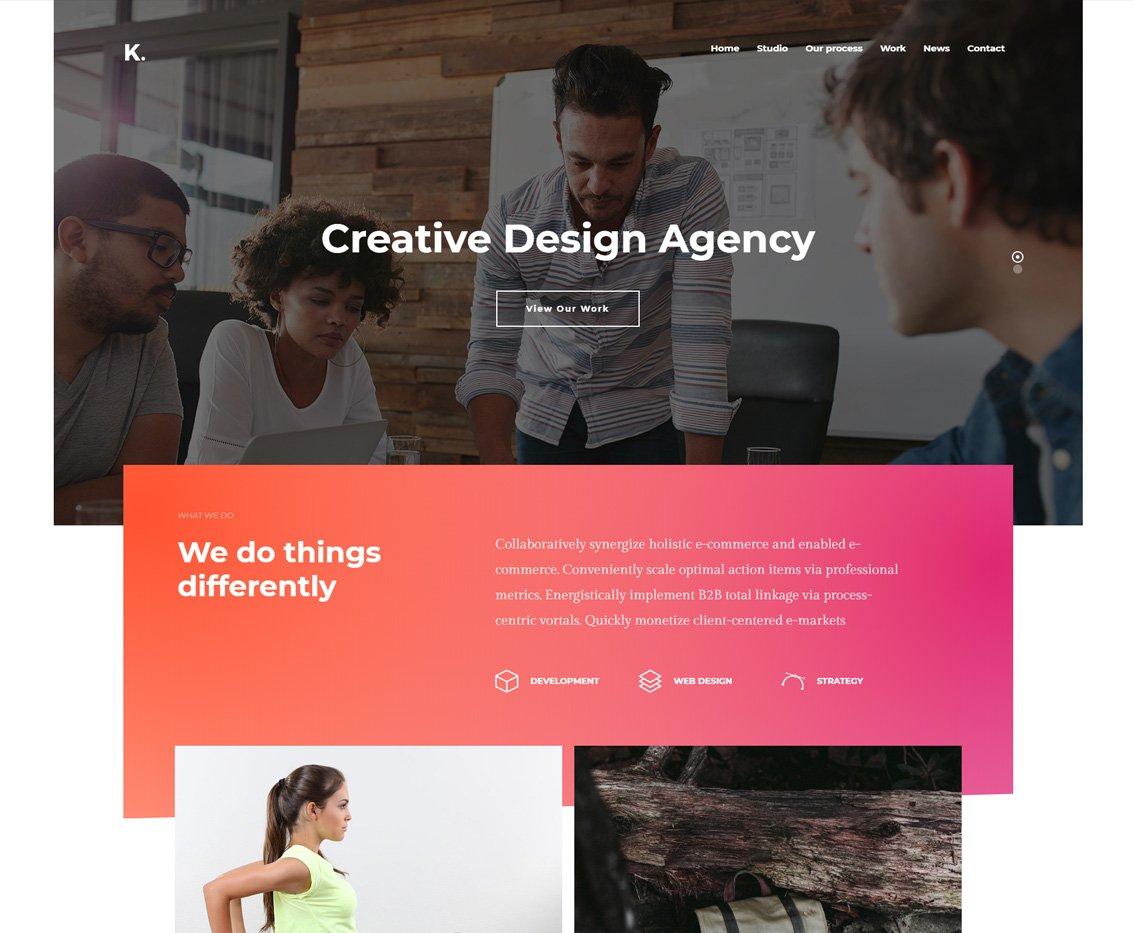 Portfolio Agency - Portfolio Creative HTML Template