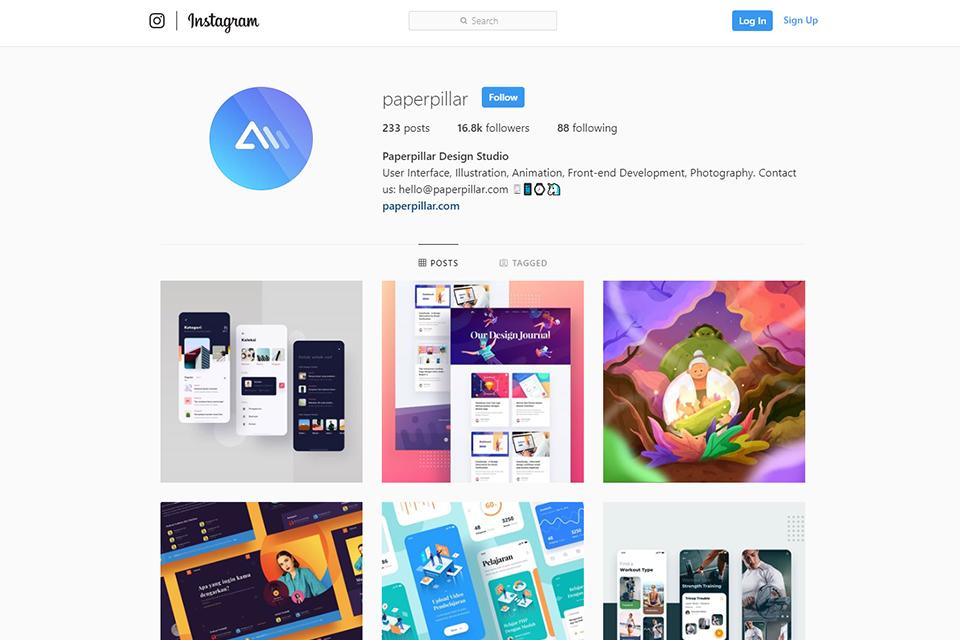 Ux UI Instagram design