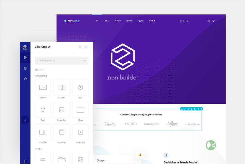 A new milestone: Introducing The New Zion Page Builder - Hogash