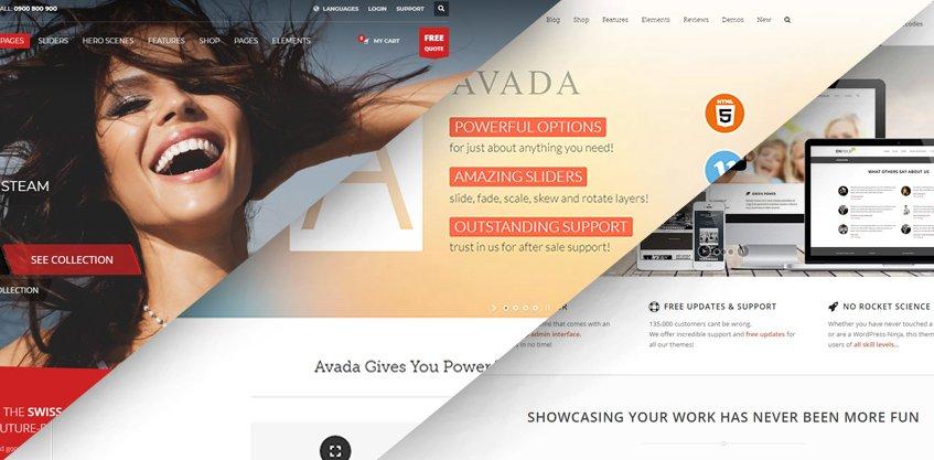 Kallyas vs Avada vs Enfold - Main Demo