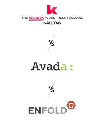 Kallyas vs Avada vs Enfold