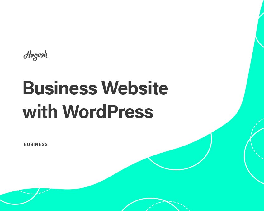 How To Start a Business Website with WordPress