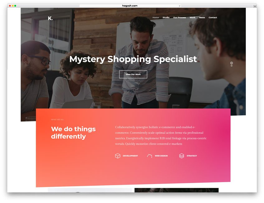 Mystery Shopping Services Website WordPress Theme