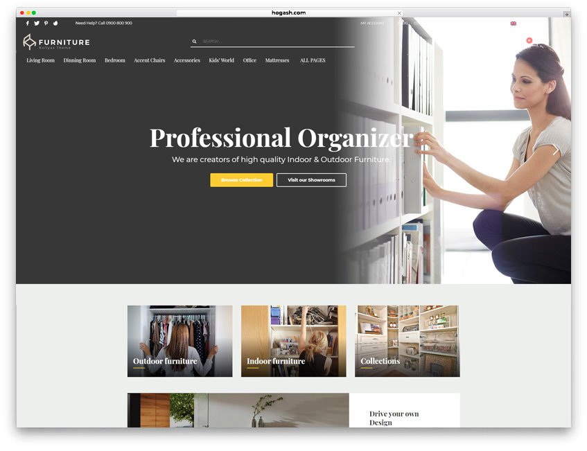 Professional Organizer Website WordPress Theme