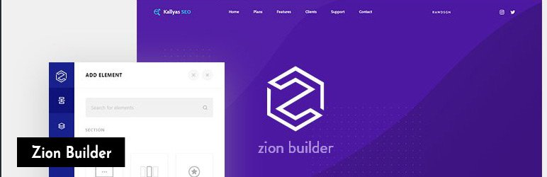 Free page builder Zion Builder