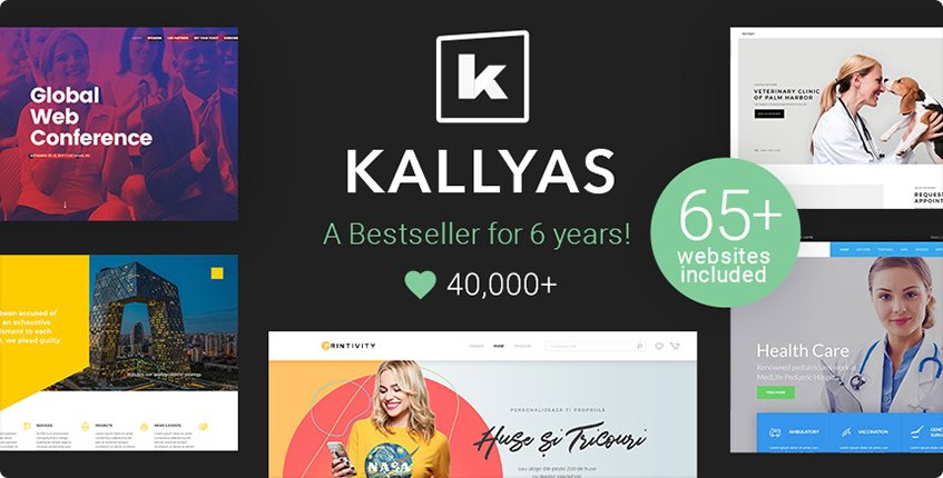 Most Popular WordPress Theme Kallyas
