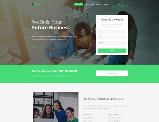 Business Consulting WordPress Theme - Kallyas