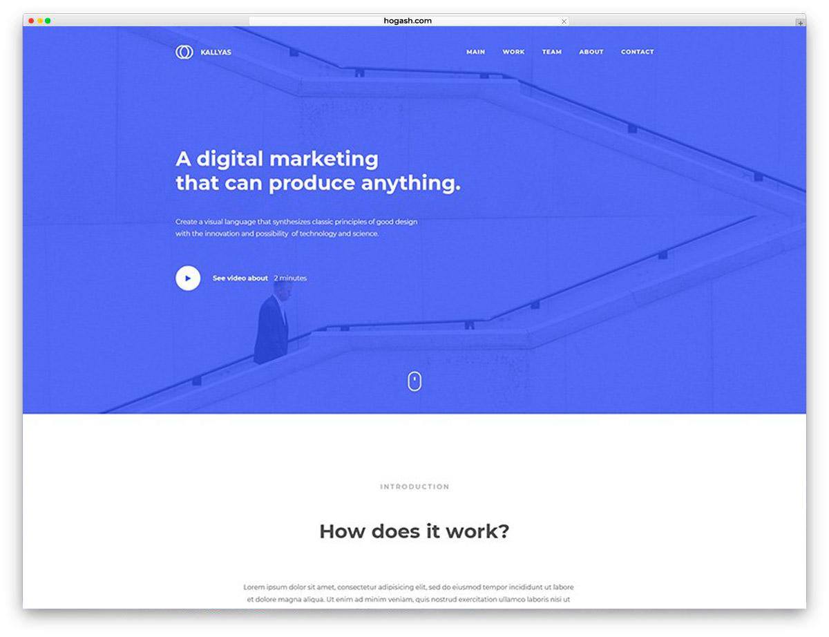 Multi-Purpose Agency Free PSD Website Template
