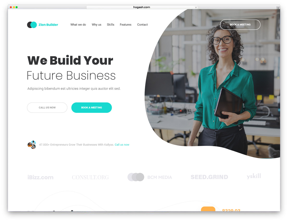 Consulting V2 Free PSD Template