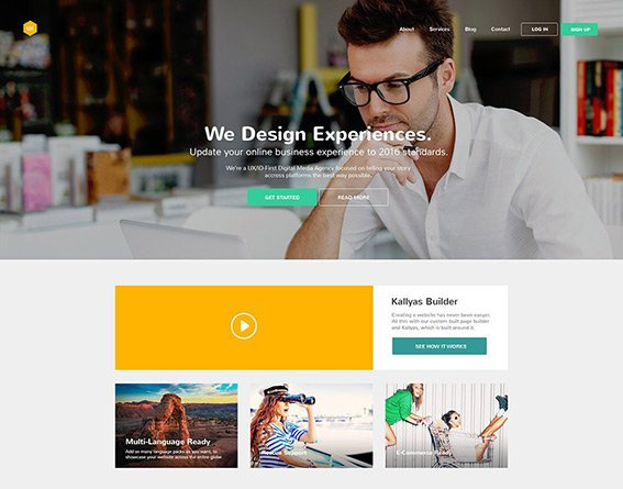 Business - Free PSD Template