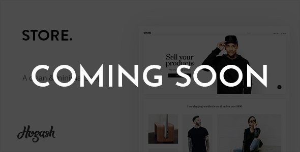 Minstor Minimal Store - Free WordPress Theme