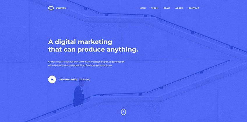Multi-Purpose Agency - Free PSD Template